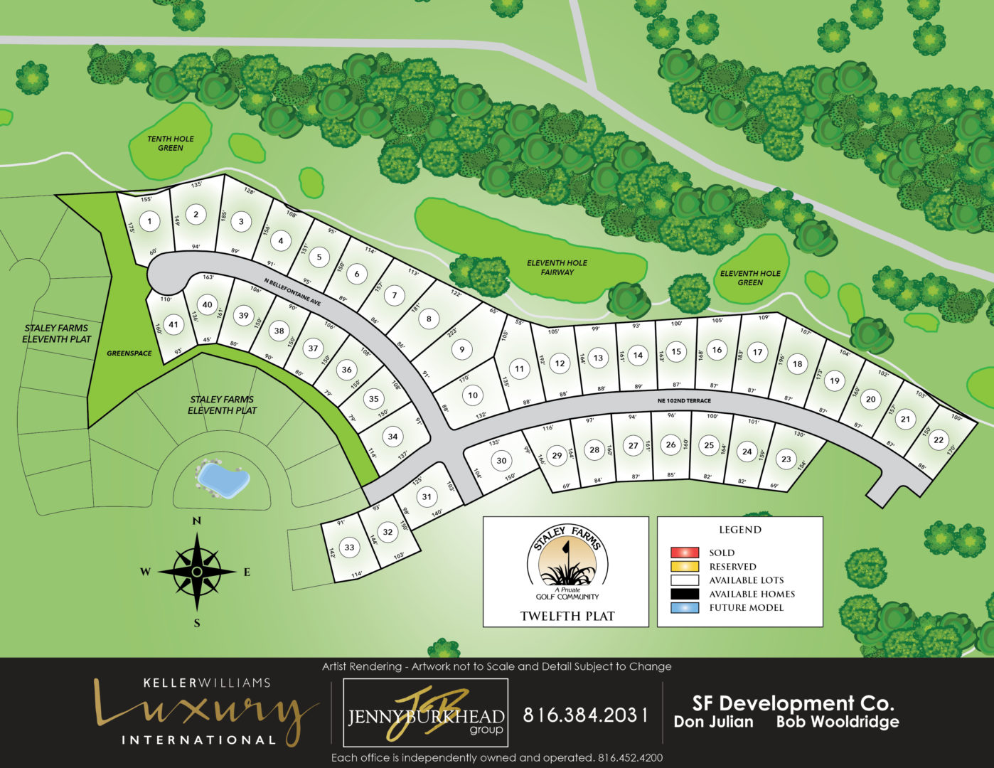 Staley Farms New Homes
